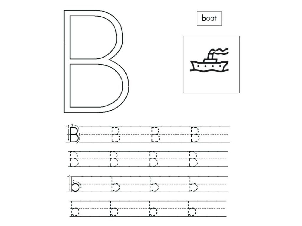 Free Abc Worksheets For Preschool Pictures
