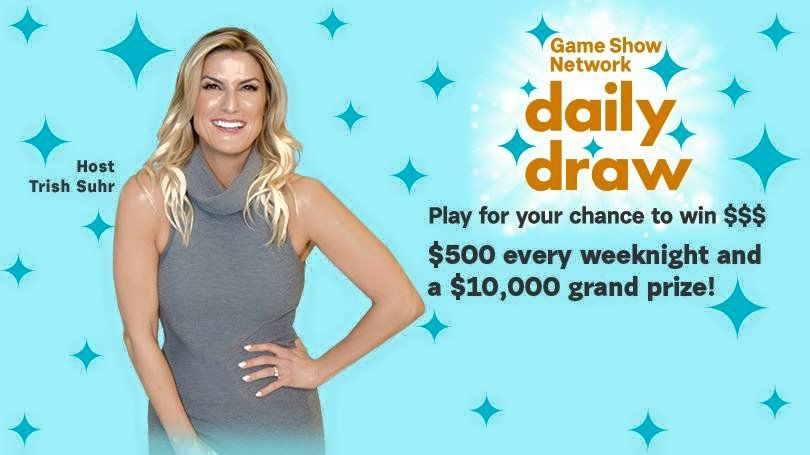 GSNTV Game Show Network Daily Draw Sweepstakes Code Words