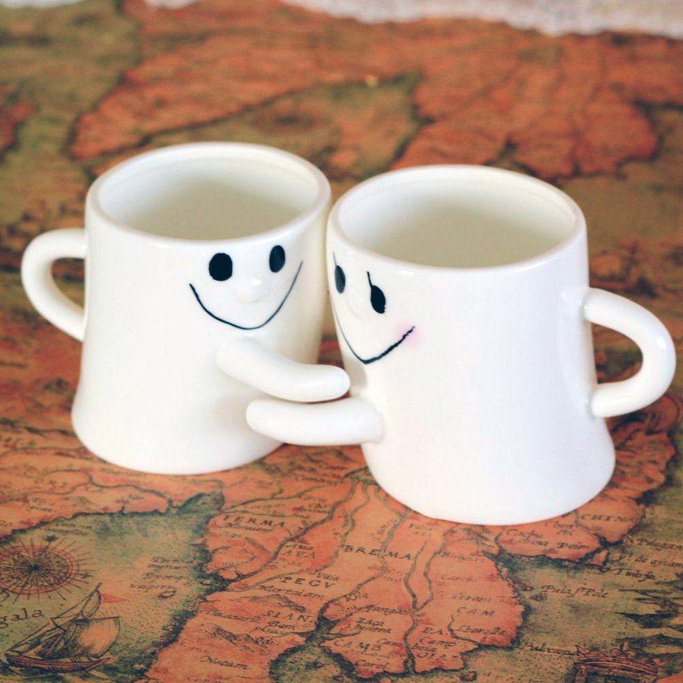 Hugging Mugs Couples Coffee Mugs Mugs Couple Coffee