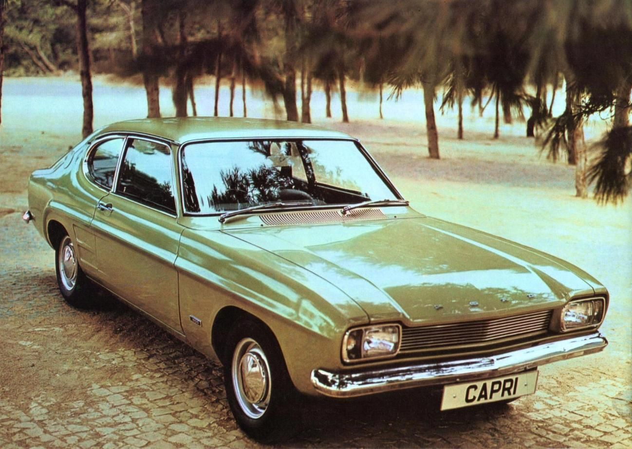 Ford Capri Uk Brochure 1969