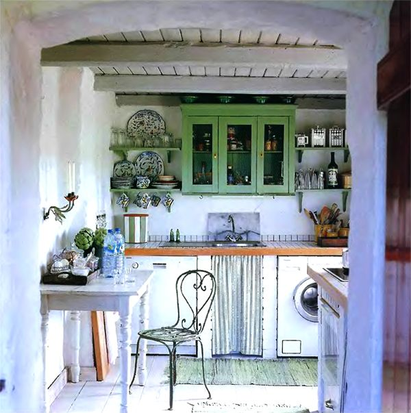 Country House Kitchen Set Furniture Classic Decorative