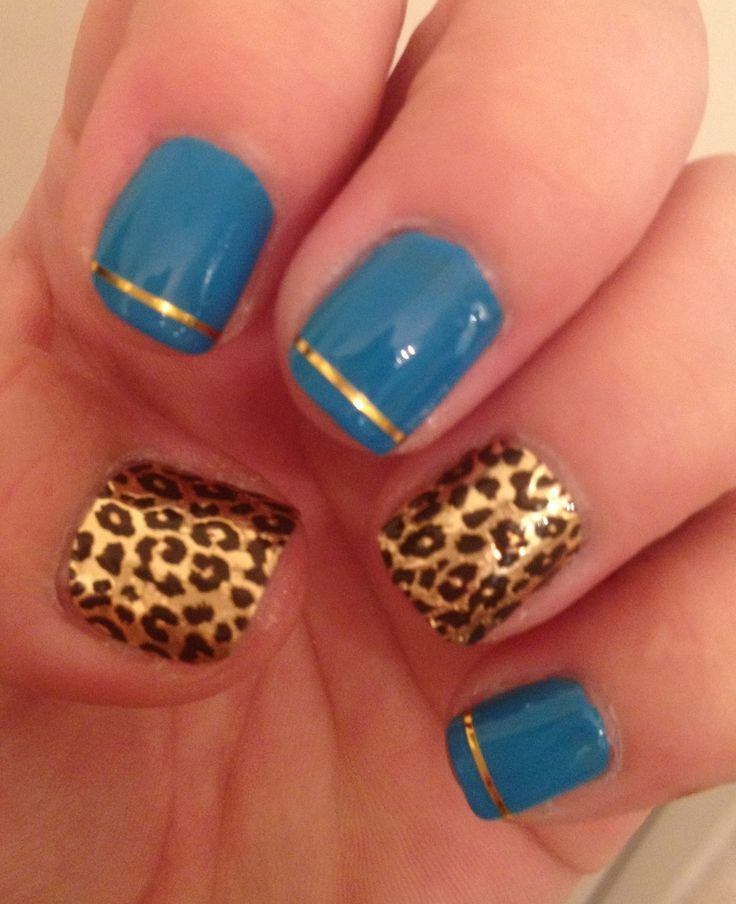 Cute Nails Designs Cheetah Print | zoneinteriordesign. | Nail ...