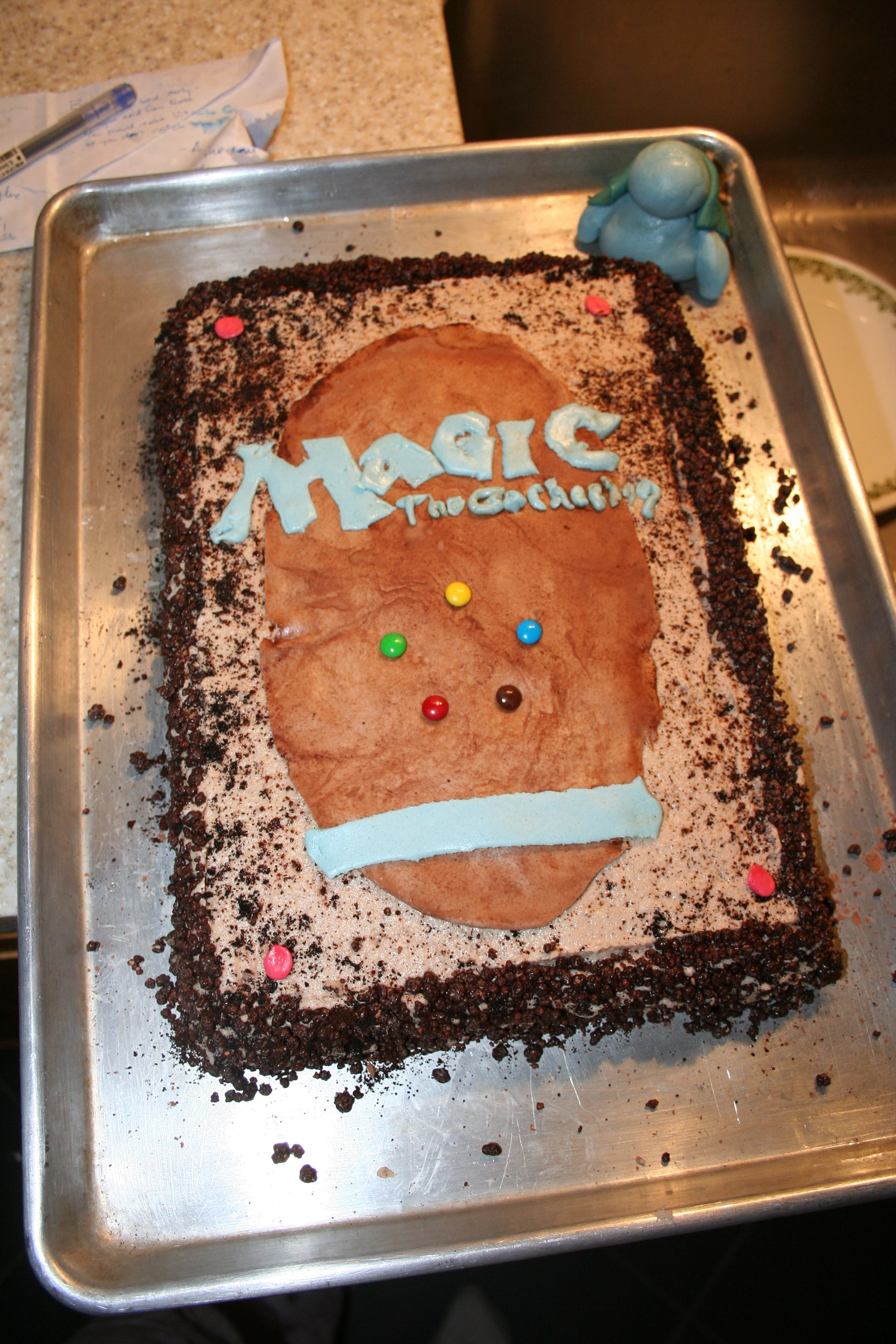 MAgic The Gathering Cake