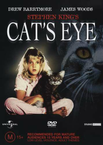 Cats In Film The Cat S Eye 1985 Stephen King The Great Cat Cats Eye Movie Stephen King Great Cat