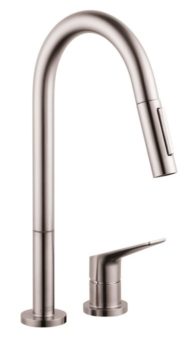 Charmant Axor Citterio M 2 Hole Kitchen Faucet, Pull Down