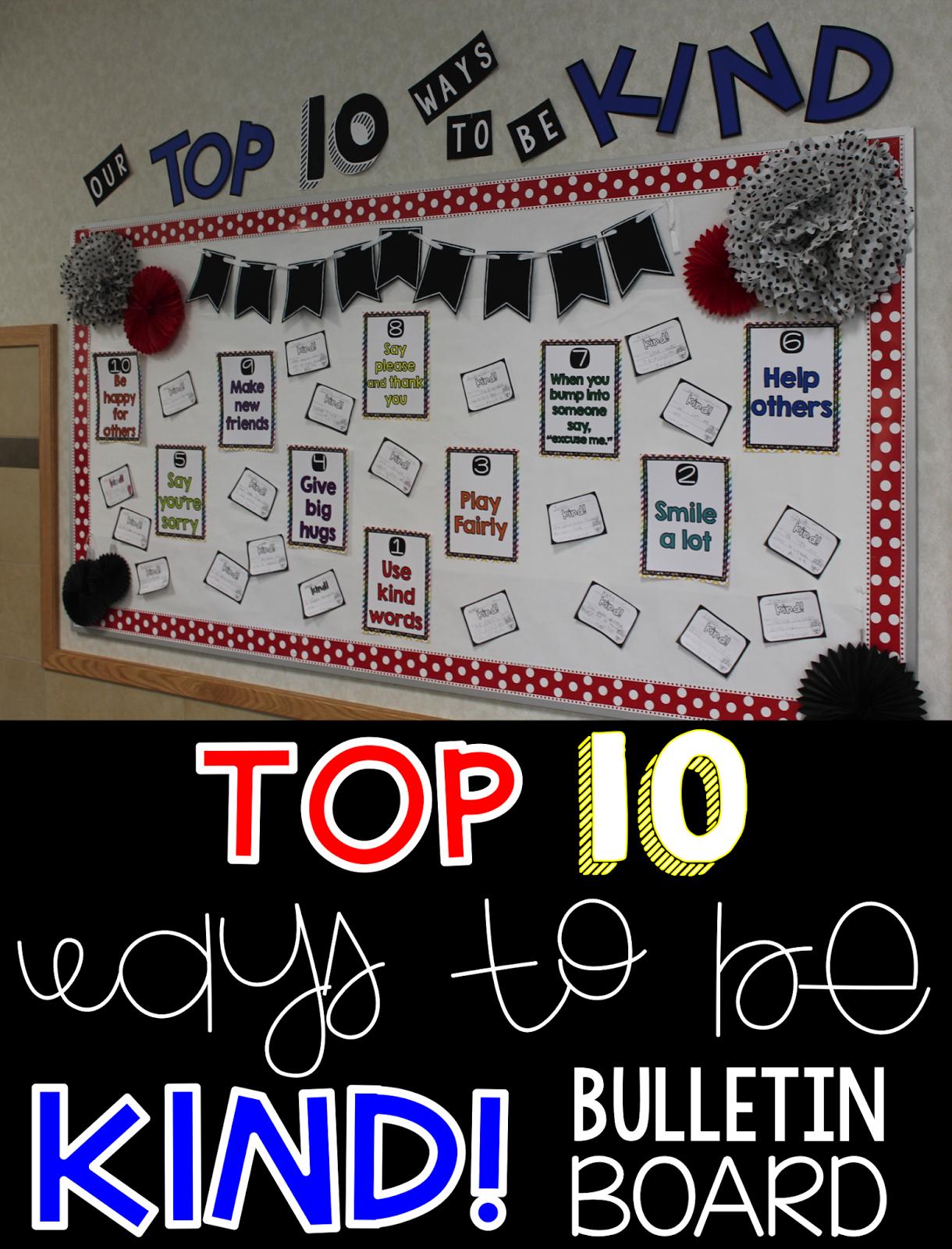 Kindness Bulletin Board Ideas