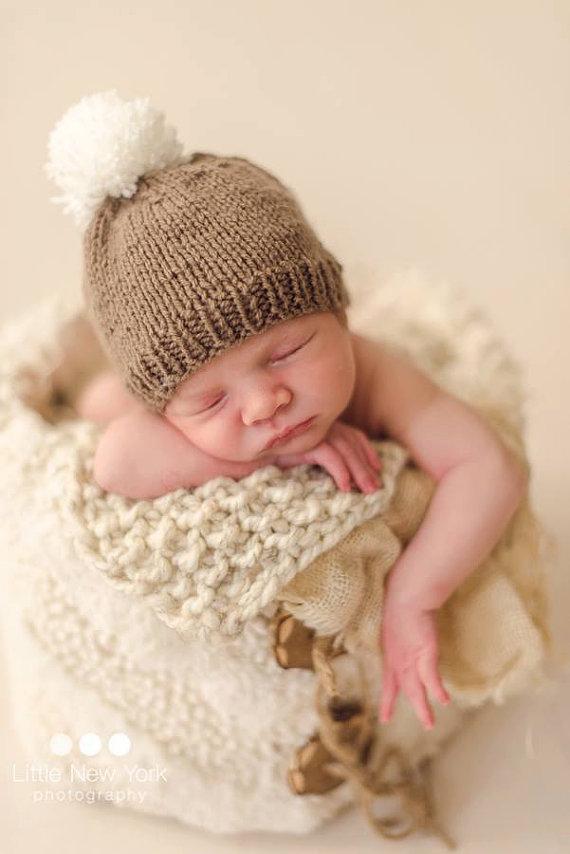 newborn props,newborn boy beanie newborn boy striped beanie,gender neutral hat newborn photo prop Newborn striped beanie hat in 50 colors