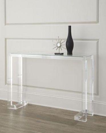 Good Clear Acrylic Sofa Table