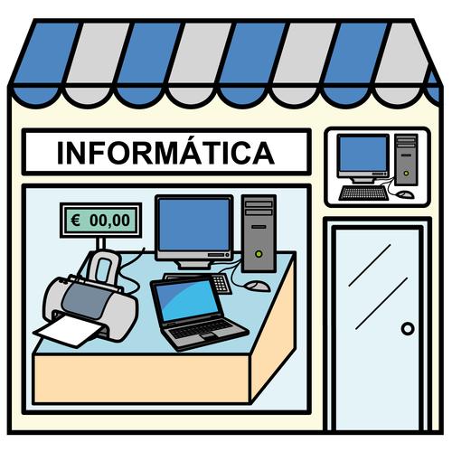 Pictogramas Arasaac Tienda De Informatica Tienda Dibujo Oficios Y Profesiones Informatica