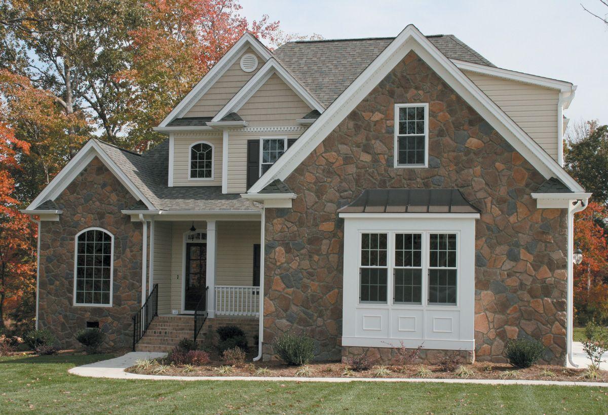 FIELDSTONE-SANTA-FE-exterior-stone-veneers-BUILDING STONE | Ideas ...
