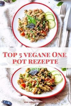 Top 5 vegane One Pot Rezepte