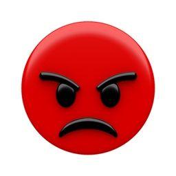 Tears of Joy & Angry Face Emoji Oreo Cookie Chocolate Mold