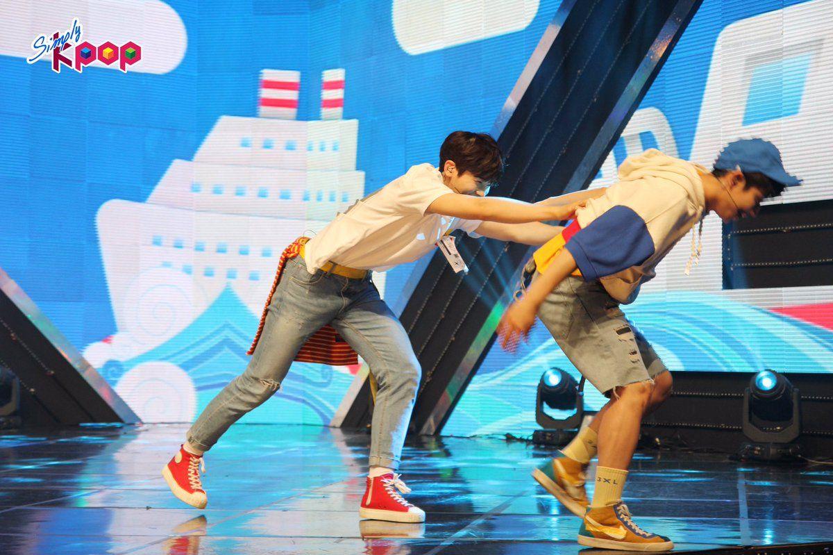 [19.08.16] Arirang Simply K-Pop episode 227 - EunWoo e MyungJun