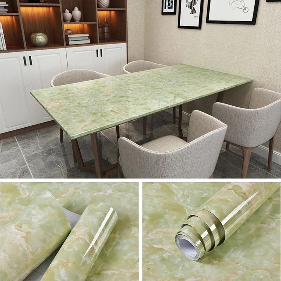 Marble Contact Paper Self Adhesive Decorative Granite Vinyl Film Peel Stick Wallpaper For Kitchen Countertop Cabinet Furniture Kitchen Wallpaper Countertops