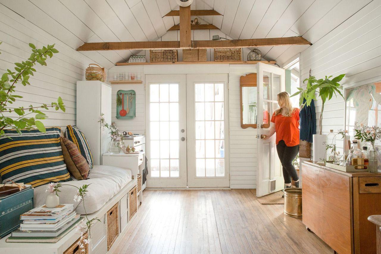 Garage Turned Into Small Home Via Refinery29 Gravityhomeblog Com