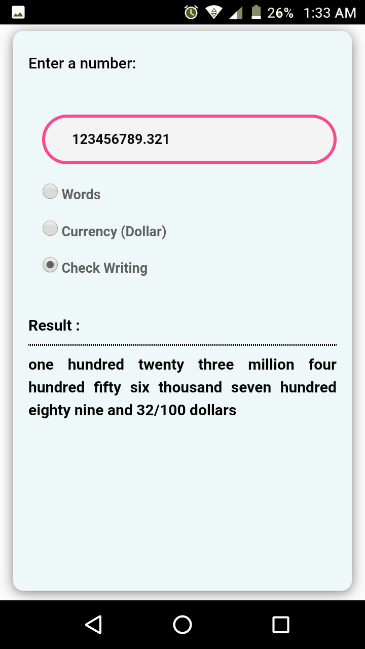 How To You Write 6123456789 321 Usd In Bank Check Words Happy Words Technology Solutions