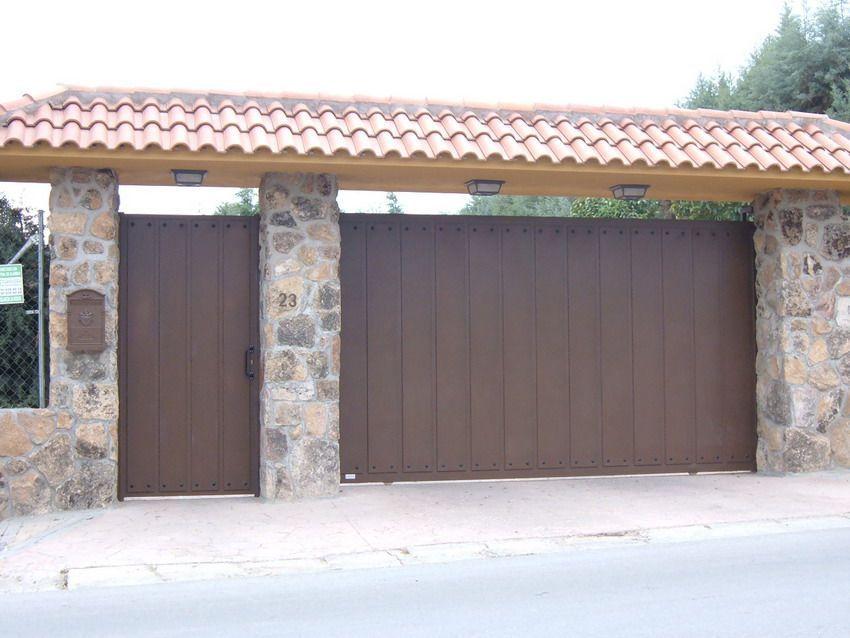 Image result for entradas puertas garaje metal garage - Puertas de metal para casas ...
