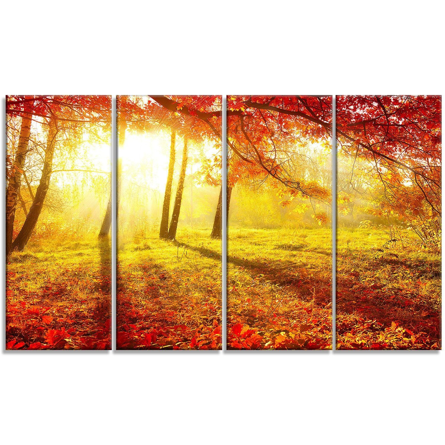 Check also Houzz. Designart \'Autumnal Park\' Landscape Photography ...