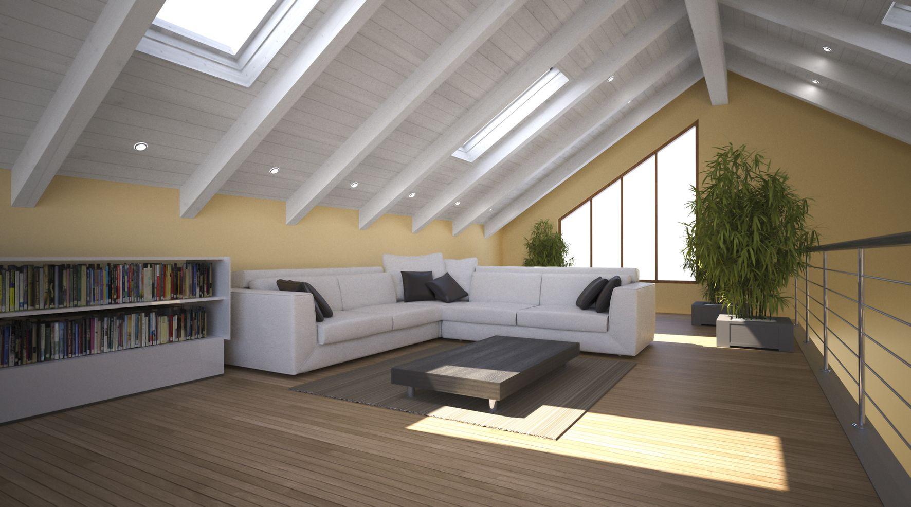 Come Svecchiare Una Casa come rinnovare un tetto in legno   soffitto con travi in