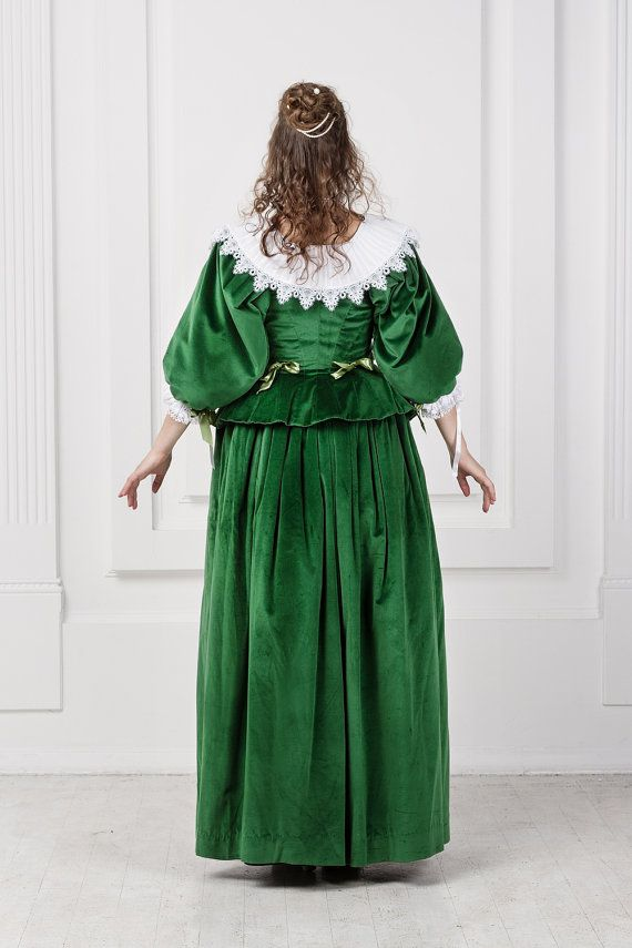 Noble woman dress 17th century, Baroco, Europe | 17th century ...