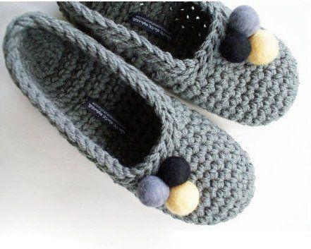 Como hacer pantuflas a crochet - Taringa!