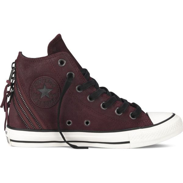 Converse Chuck Taylor All Star Tri Zip – red Sneakers ($55