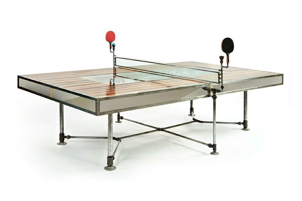 Pingtuated Equilibripong By Akke Functional Art Ping Pong Table Pingpong Table Design Eclectic Dining Tables