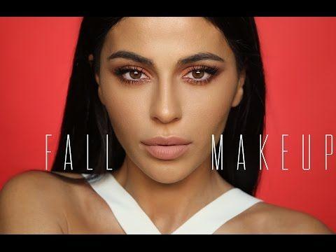 fall makeup tutorial 2016  teni panosian makeup neutral