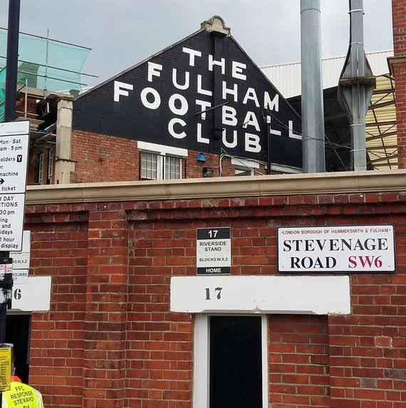 Fulham FC Minimalist Graphic Design Art Print Craven Cottage Archibald Leitch Balcony