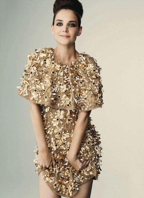 Katie Holmes for Harper's Bazaar Russia | Tom & Lorenzo