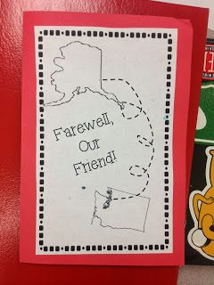 Farewell Card For Kindergarten