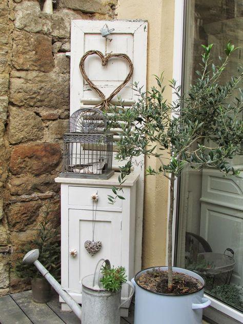 terrassen einrichtung und dekoration http shabbychic und. Black Bedroom Furniture Sets. Home Design Ideas