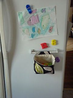 Tutorial Hanging Fabric Basket Magnetic Sash Rod Fm Walmart