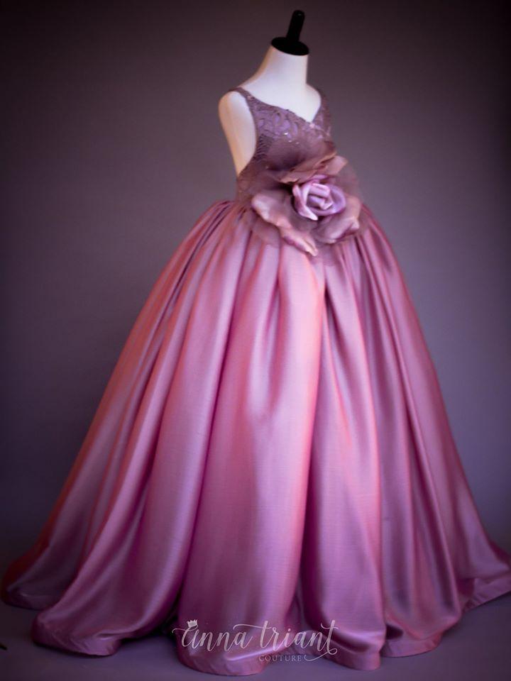 ANNA TRIANT COUTURE | moda niñas | Pinterest | Vestiditos, Comunión ...