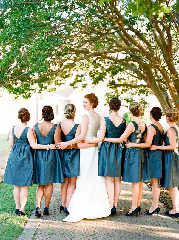 Elegant Southern Newport News Wedding Bridesmaid Dresses