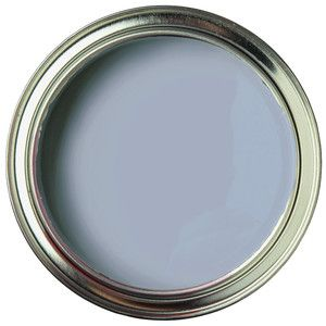 Our beautiful light blue, POUT. Will add beautiful  décor to any space. Quiet Home Paints | Organic, all-natural paint.