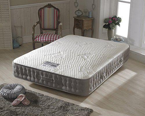 Happy Beds Bamboo Vitality 2000 Pocket Sprung Reflex Memory Foam Mattress Super King Uk In 2020 Uk Mattress Mattress Mattress Store