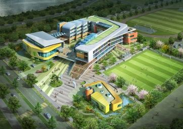 Beautiful Gangnam   Seocho Roost Uptown School Of Architecture Design Competition (  Three Junior High Schools)