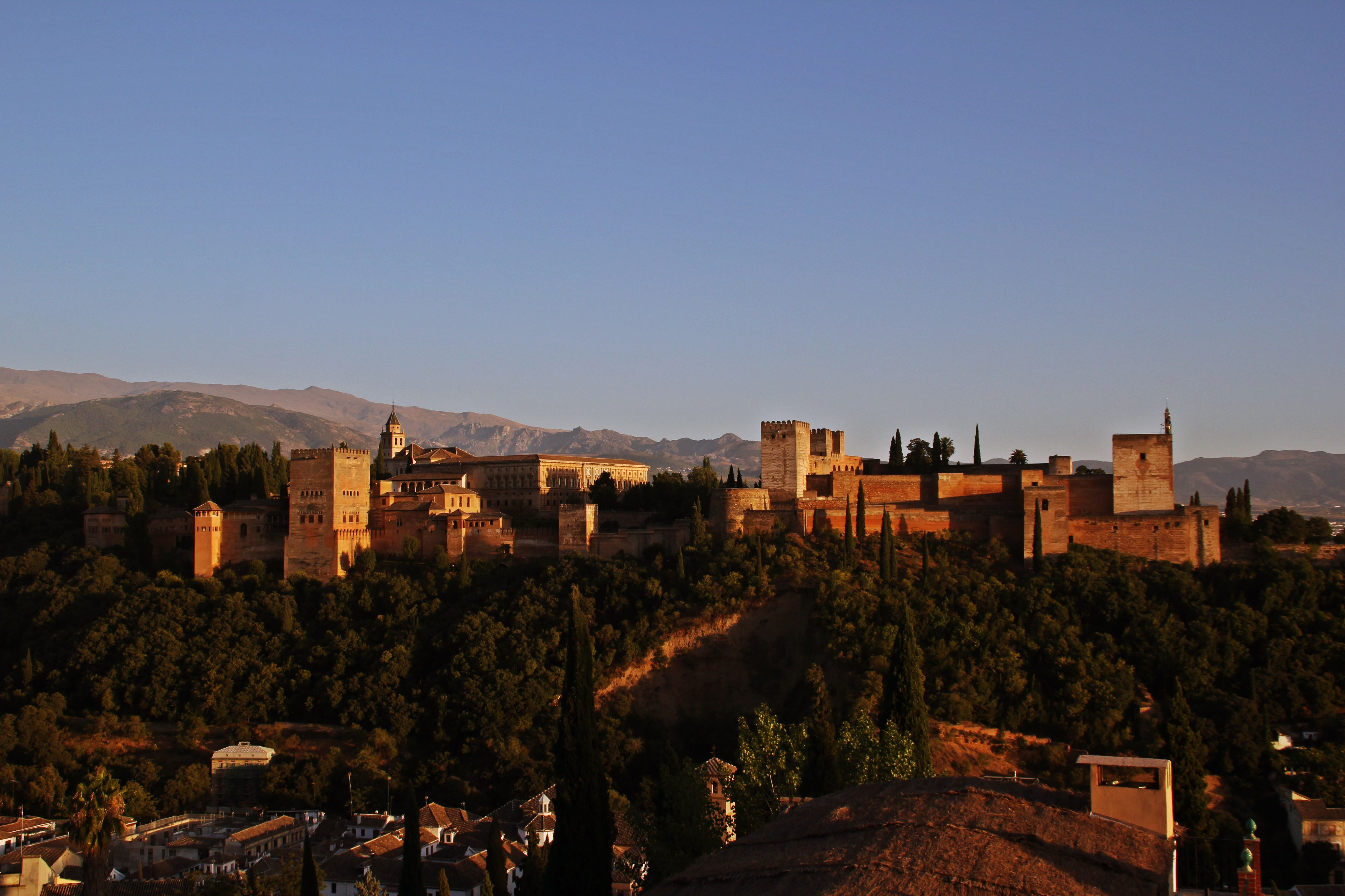 That's Alhambra in Spain. Such wonderful place with a mythical feeling.