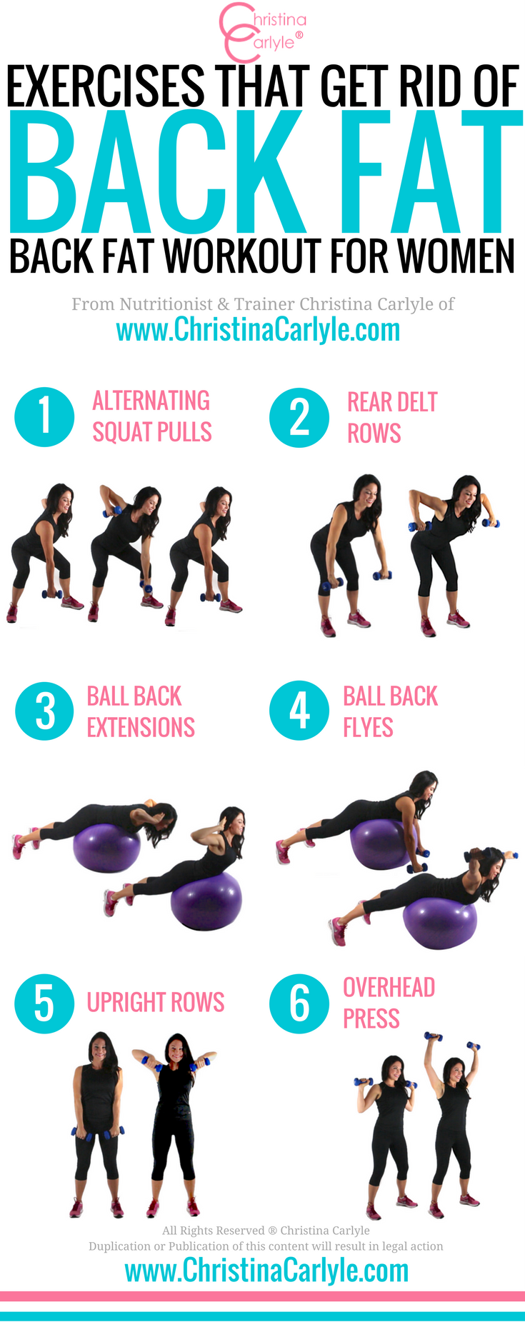 Exercises That Get Rid Of Back Fat  Fitness  Best -2263