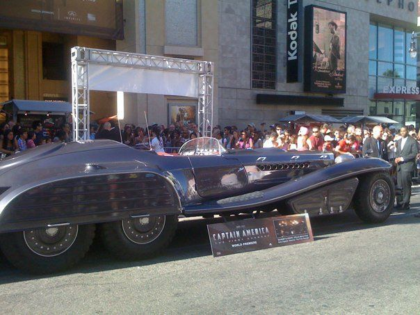 Captain America Opening -The Red Skulls Car aka The Schmidt Coupe ...