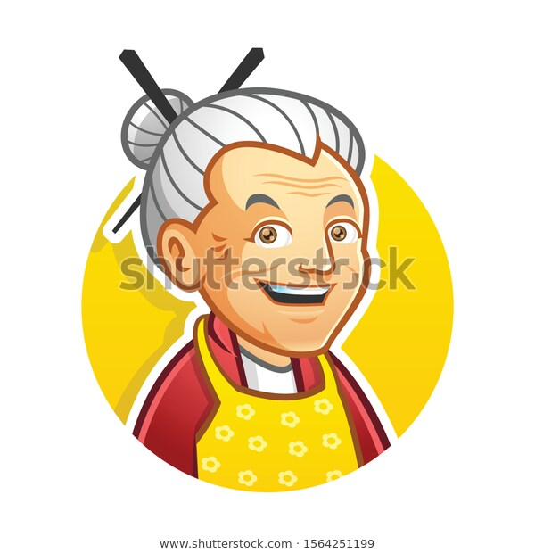 Find Grandma Granny Mascot Character Logo Design Stock Images In Hd And Millions Of Other Royalty Free Stock Photos Illustra Desain Logo Kartun Ilustrasi Lucu