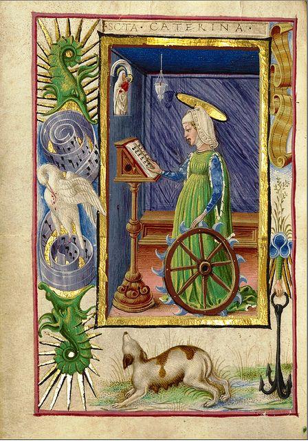 Saint Catherine of Alexandria Taddeo Crivelli, Italian, Ferrara, about 1469 The J. Paul Getty Trust