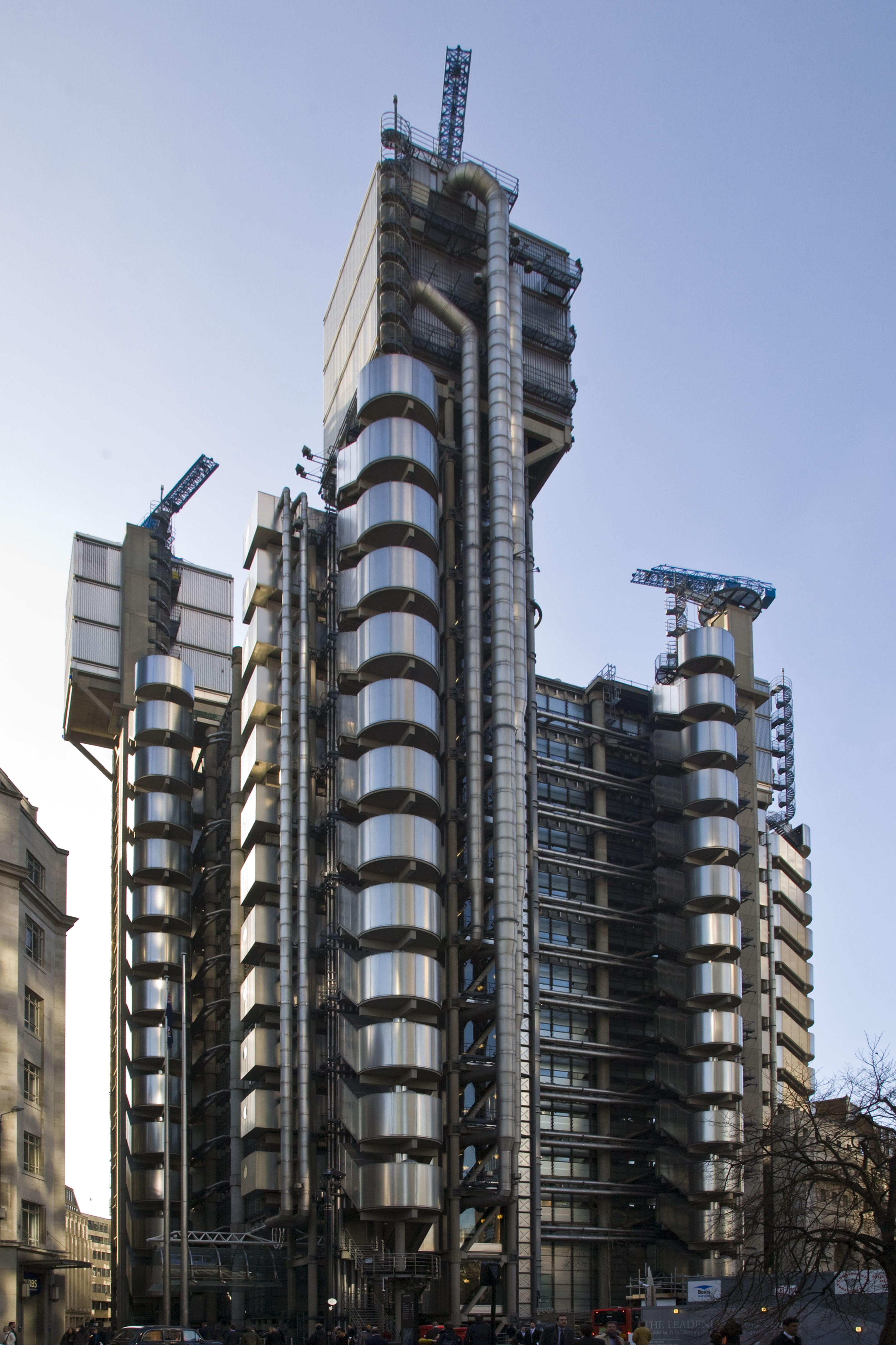 The lloyds building london lloyds bank hq architect for Interior design apprenticeships london