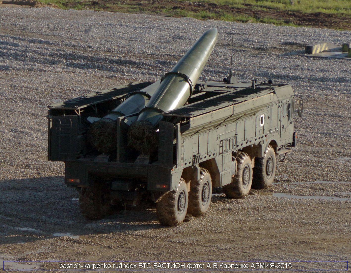 Russian 9K720 Iskander mobile ...