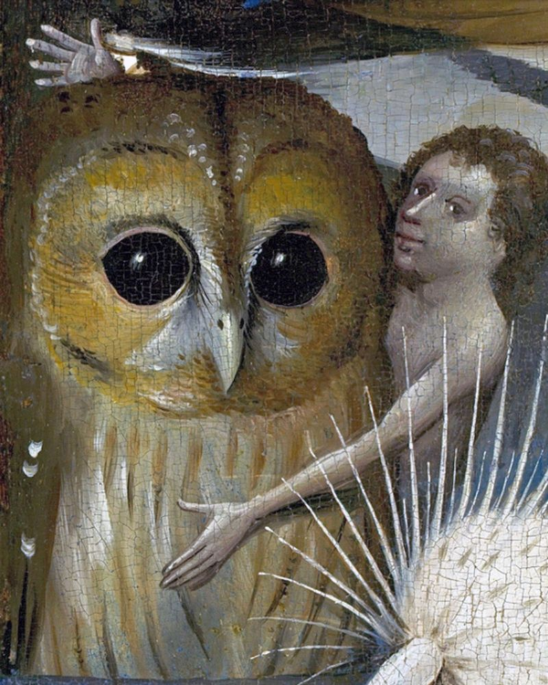 Details about Bosch The Garden of Earthly Delights Painting