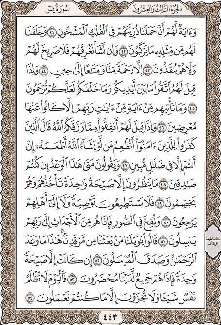 Pin By M Hafez On ٣٦ سورة يس Quran Quran Recitation Surah Ar Rahman
