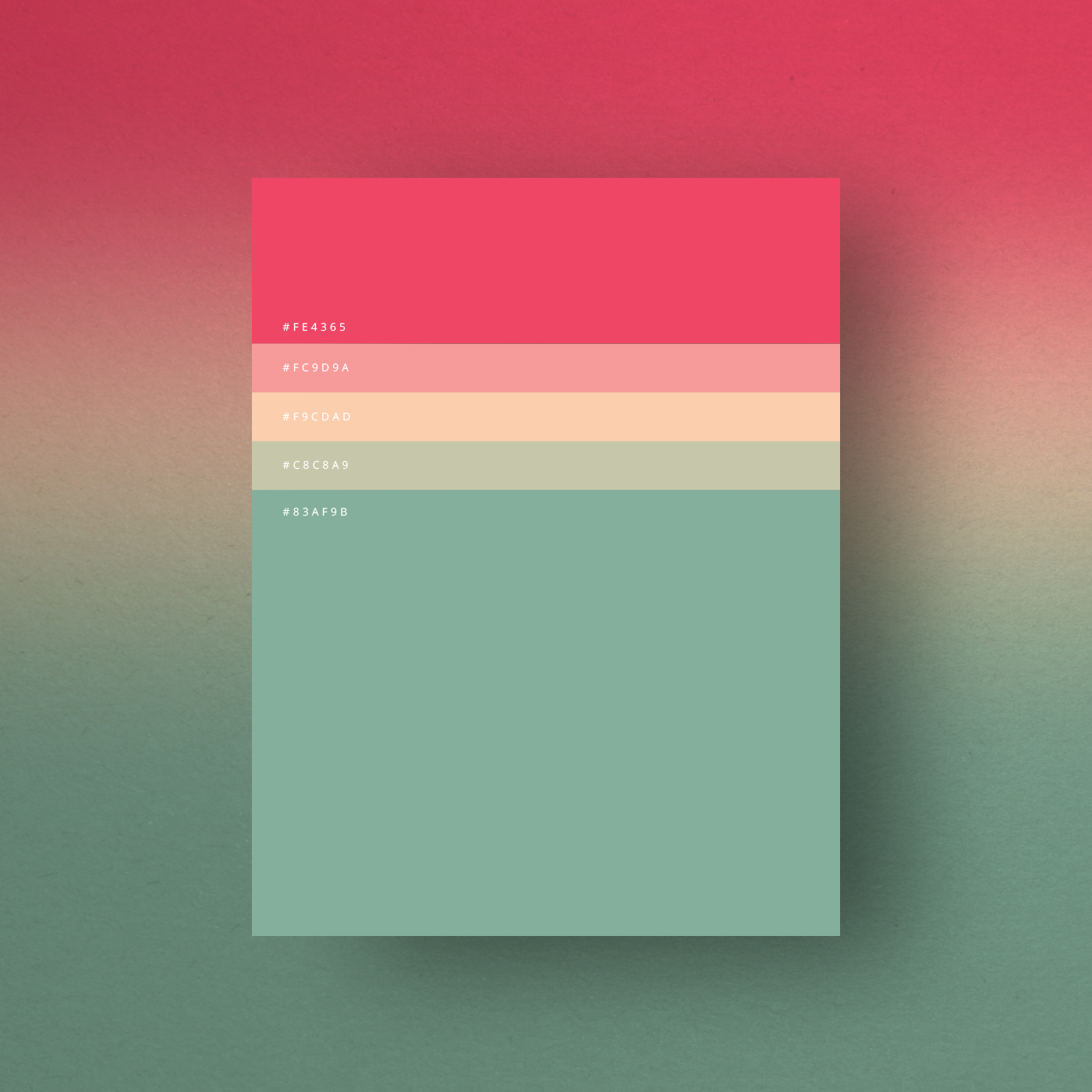 Milan Based Creative Director Duminda Perera Has Created A Series Of Minimalist Color Palette Posters That Are Both Handy And Beautiful