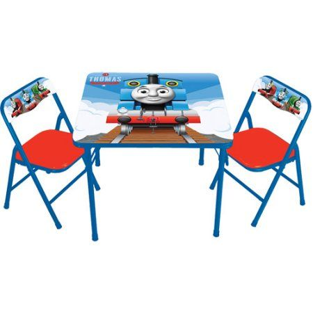 ff22b103e9705 Thomas the Tank Activity Table and 2 Chairs Set - Walmart.com