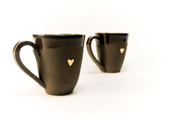 Black And Gold Coffee Mug What A